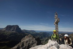 Za romantikou na ferraty do Dolomit
