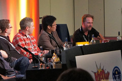 Kapow! Comic Con : The Millarworld Panel - Andy Diggle, Jock, Leinil Francis Yu , Ian Churchill by Craig Grobler