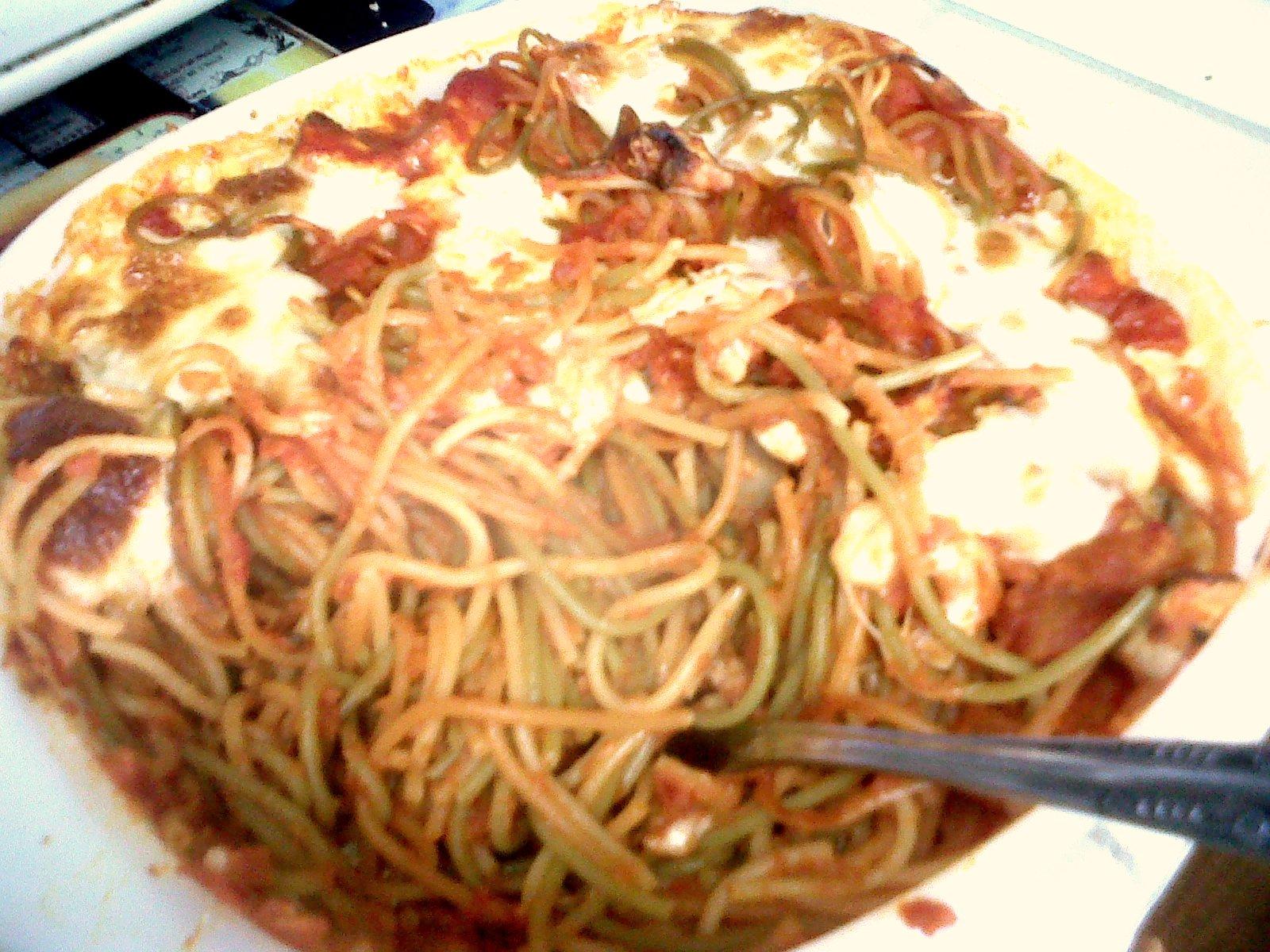 4.13.11 Baked Mozzarella Spaghetti 2