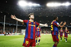 Barcelona vs Almeria (Kwmrm93) Tags: barcelona sports sport canon football spain fussball soccer nike celebration futbol campnou futebol fotball celebrating ftbol voetbal fodbold calcio deportivo fotboll pika  deportiva messi esport fusball  fotbal jalkapallo   nona nogomet       votebol fodbal