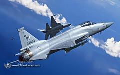 Soaring Thunders (Fighting Falcon16) Tags: pakistan flight formation lgb bomb thunder paf fc1 mk82 jf17