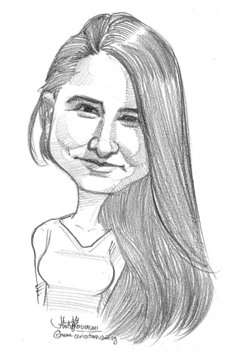 caricature in pencil - 48