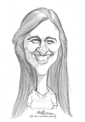 caricature in pencil - 44