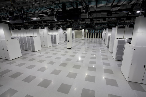 Cisco New Data Center:  Data Hall Photo
