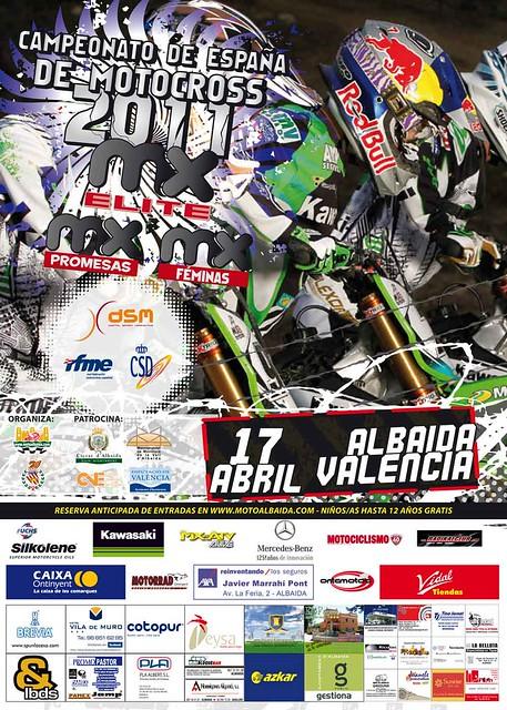 Campeonato España MX Elite Albaida