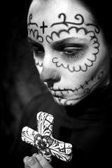 Dia De Tay (carlos-j) Tags: white black digital canon de dead skull los day cross lewis dia taylor 7d muertos