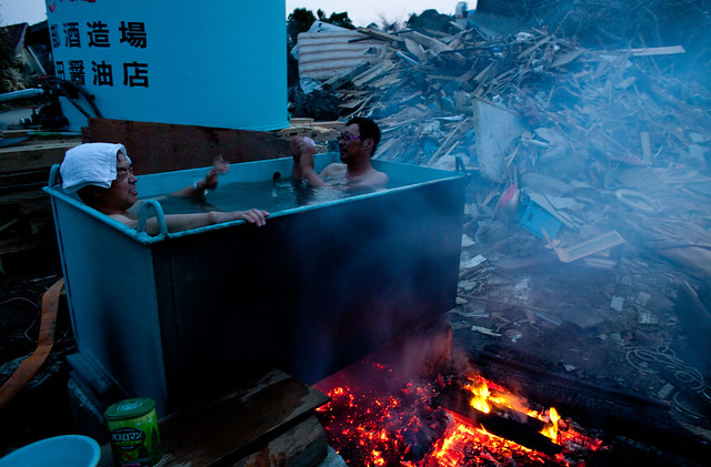 Hot Bath in Japan