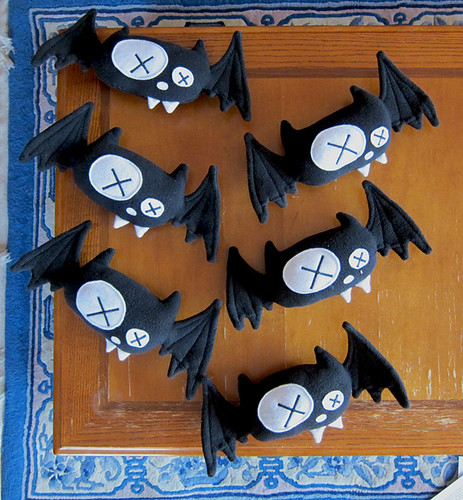 Dead Bat Plush - Ready for pick up