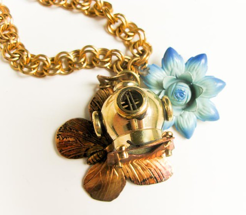 The Diving Bell and the Butterfly Necklace
