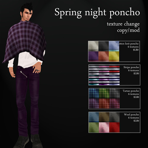A:S:S - Spring night ponchos by Photos Nikolaidis
