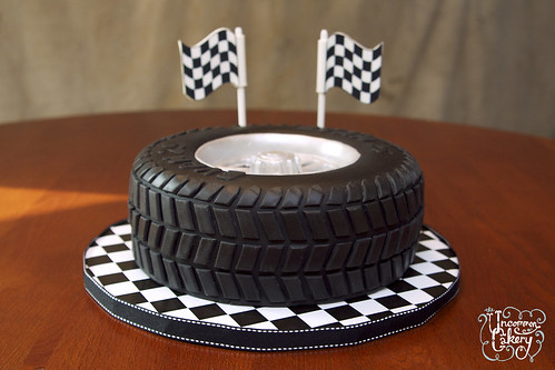 Tire Cake Birthday Cake A Photo On Flickriver
