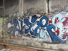 GNAR (Lurk Daily) Tags: graffiti bay east tew gnar auk snv
