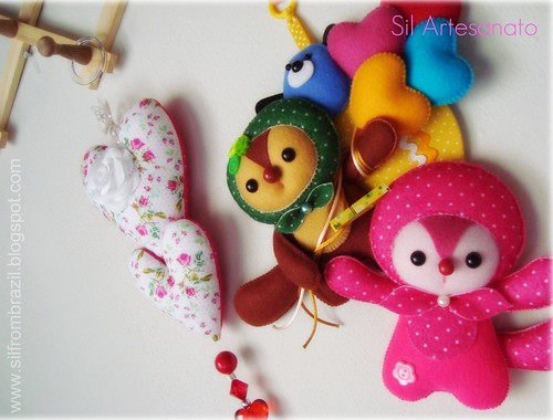 Mais Dois Crafts Prontos | More Two Crafts Done by Sil Artesanato