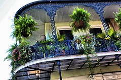 The Balcony (Ken Yuel Photography) Tags: wroughtiron ironworks ironbalcony frenchquarterbalconies digitalagent kenyuel neworleansbalconies decorativeironrailings