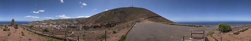 Mirador en La Atalaya, Santa María de Guía. Isla de Gran Canaria