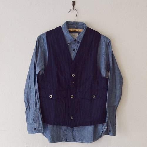 Riding High / Indigo Work Vest