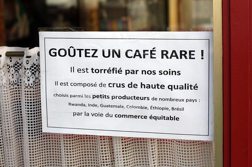 goûtez un café rare