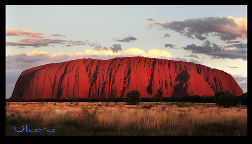 Uluru by Georgie Sharp