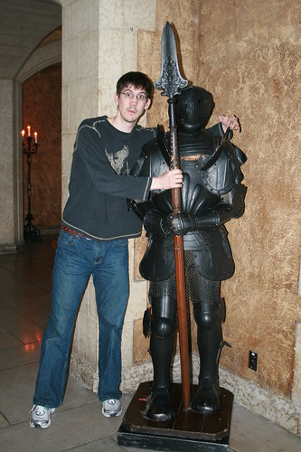 Mike And The Suit Of Armour