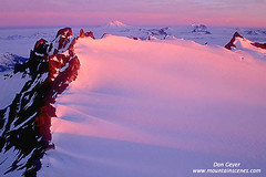 Snowfield_Neve_north_cascades_NOR.411 (Don Geyer) Tags: morning pink mountain ice nature sunrise landscape washington natural scenic peak glacier alpine neve backcountry environment remote snowfield wilderness northcascades
