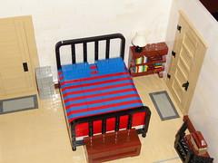 My Room in LEGO (LEGO 2x4) Tags: window londonbridge tv bed bedroom lego sink desk dresser jedistarfighter legoroom
