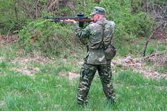 100_4302 (cowboy chris bbq) Tags: cute sexy hat usmc model marine gun photoshoot calendar boots modeling military rifle models columbia camo mo cap cover missouri blonde posters casual camoflage m14 booniehat cowboychrisbbq
