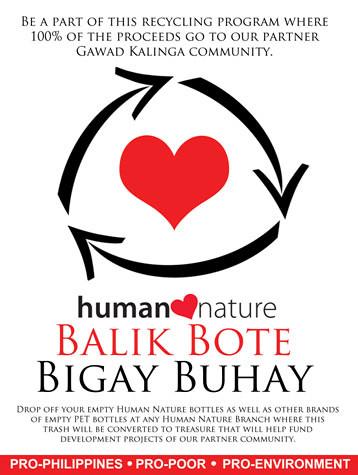 Human Nature Balik Bote Bigay Buhay