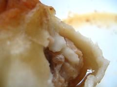 Inside the dumpling
