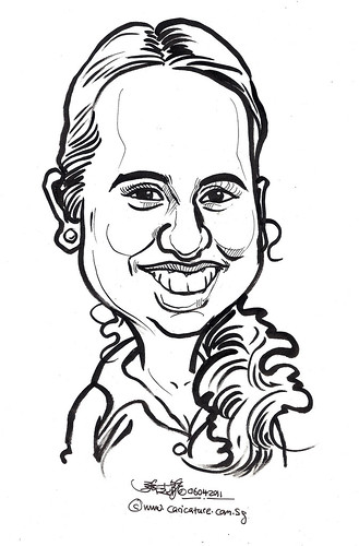 caricature in ink 06042011