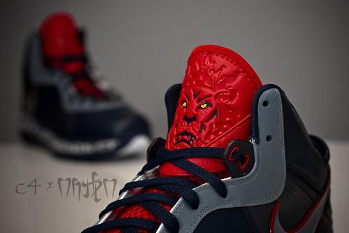lebron 8 v1. Nike Air Max Lebron 8 v1 quot;NYCquot;