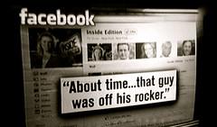 テレビとフェイスブック