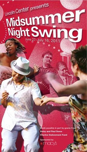 Midsummer Night Swing 2011 poster