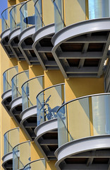 Bee Hive ([stephpenk]) Tags: abstract london lines architecture geometry curves balconies reptition nikond90 stephpenk