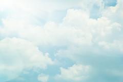Life Without End. (CarolynsHope) Tags: life blue sky clouds easter hope god faith jesus forever rejoice eternal hopeful hoping unending carolynshope