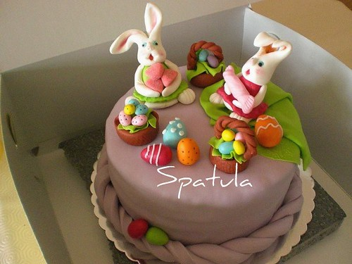 Easter Cake by Demetin spatulasi