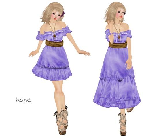 !1mm***   Romanticdress  purple (LB)