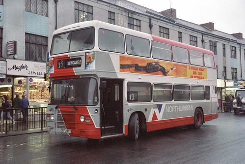 Northumbria Motor Services Leyland Olympian / ECW 416 (CEF230Y)