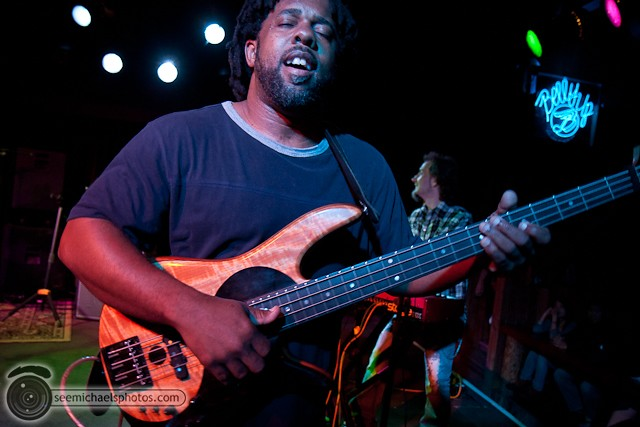 Victor Wooten at Belly Up 41811 © Michael Klayman-008