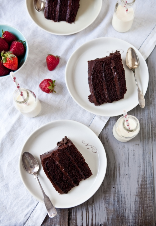 Double Trouble Chocolate Cake