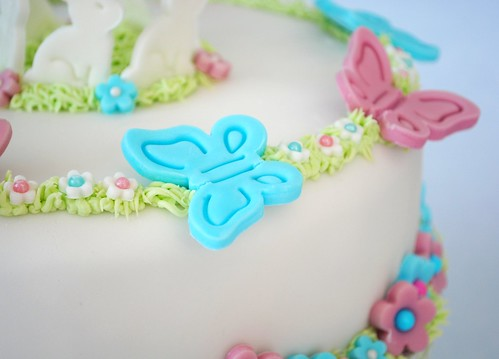 Butterflies on Cake