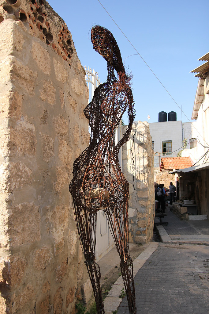 Sculpture by Nihad Dabeet's Mother During Pregnancy