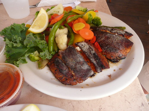 My blackened mackerel