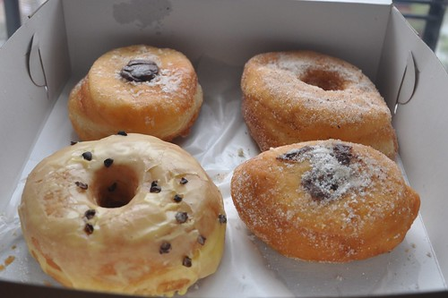 Doughnuts from Dough