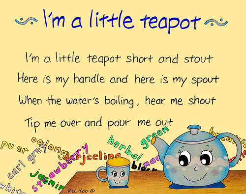 Free Coloring Pages Of Im A Little Teapot