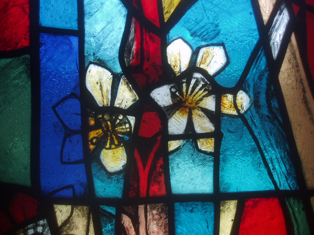 Flowers, Coventry Cathedral