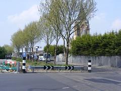 Former Level Crossing on the Silvertown Tramway, E16.  April 2011 (sludgegulper) Tags: london silvertown newham e16