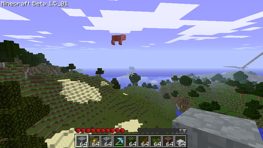 how to fly in survival mode minecraft pc