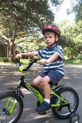 Max on bike Nov 2007 (ellishackler) Tags: max ray ellis mark jim lori nancy maxwell hack deanna dee keerti hackler maxage4learningtoride ellishackler