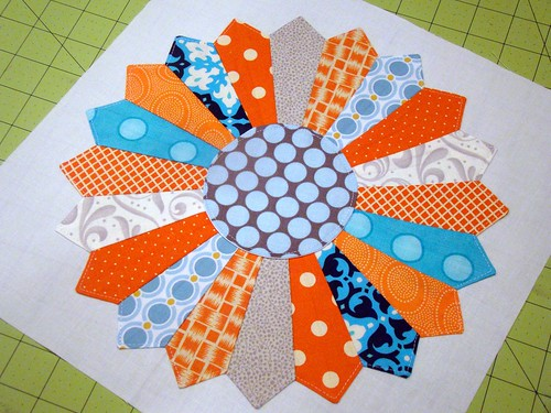 beehive 24 2nd quarter for Four Monkeys Quilts