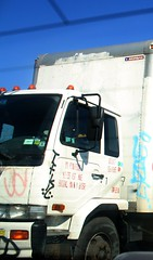 Ja Want (36th Chamber) Tags: truck one graffiti tag nj want msk ja wanto handstyle